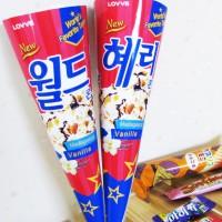 녹지않는 나만의 러브콘]월드콘도안/아이스크림도안/ 도안10매 / 나만의 러브콘에 녹지않는 아이스크림을 담아 선물하세요